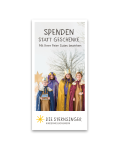 Spendenkärtchen